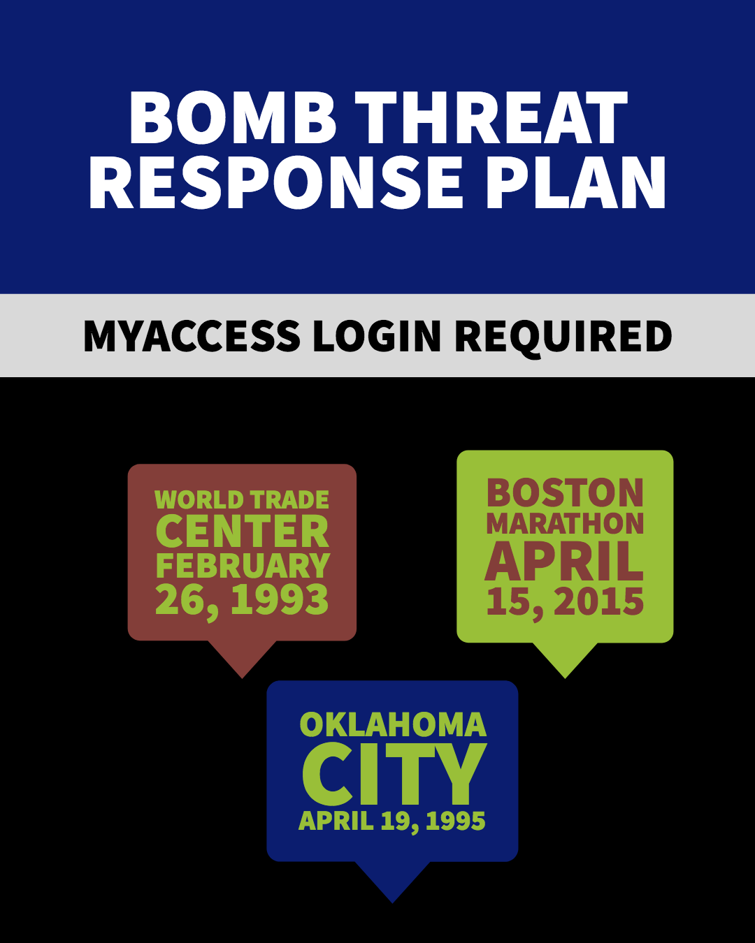 Bomb Threat Response Plan