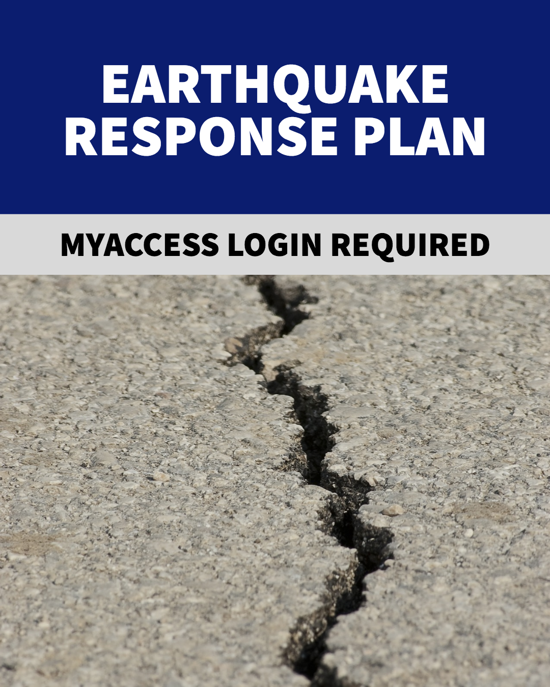 Earthquake Response Plan